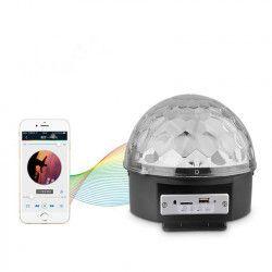 MP3 Player tip Glob Disco CU LED RGB Bluetooth USB Card Redare Muzica Joc Rotativ De Lumini