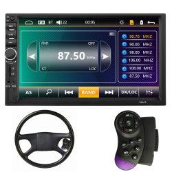 Mp5 player auto 7880s IOS SI ANDROID 2 DIN Touch screen USB 45 X 4W MIRROR LINK + RAMA+CONTROLER VOLAN 7880s