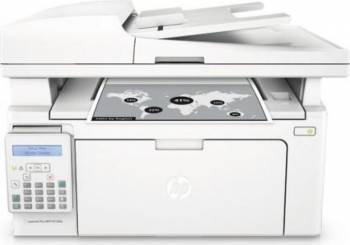Multifunctionala Laser Monocrom HP LaserJet Pro M130FN Retea Fax Multifunctionale