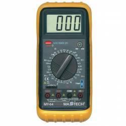 Multimetru profesional ecran LCD sonda temperatura carcasa antisoc