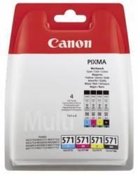 Multipack Canon CLI-571MULTI Cyan Magenta Galben Negru Cartuse Originale