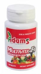Multivita + Fe Adams Vision 30cpr