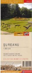 Muntii Sureanu. Harta de drumetie - Muntii nostri Harti