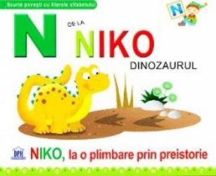 pret preturi N de la Niko Dinozaurul - Niko la o plimbare prin preistorie cartonat