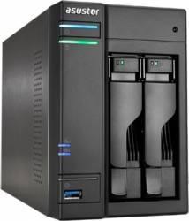 NAS Asustor AS6302T 2-Bay,  2GB RAM, 2 x Gbit LAN, USB 3.0 x 4, HDMI, SPDIF Network attached storage NAS