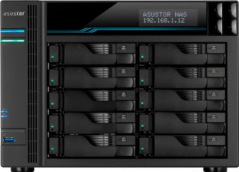 NAS Asustor Lockerstor 10 AS6510T 8GB Bay x10 Network attached storage NAS