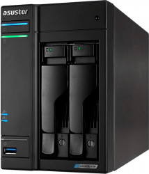 NAS Asustor LOCKERSTOR 2 AS6602T Intel Celeron J4125 2GHz 4GB DDR4 2-Bay Negru Network attached storage NAS
