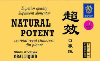 Natural Potent 10ml 6 fiole Naturalia Diet