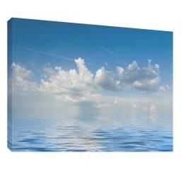 Nori peste mare 1 - Tablou canvas - 52x70 cm Tablouri