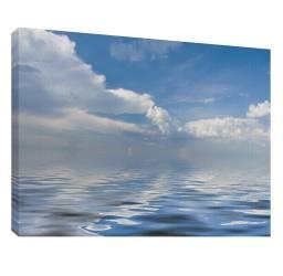 Nori peste mare 2 - Tablou canvas - 52x70 cm Tablouri