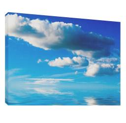 Nori peste mare 5 - Tablou canvas - 52x70 cm Tablouri