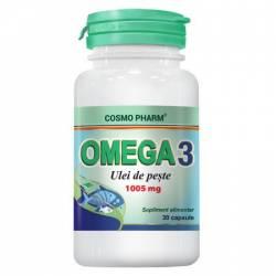 Omega 3 Ulei Peste 1005mg Cosmo Pharm 30cps