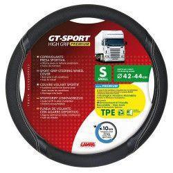 Pachet Husa volan TPE GT-SPORT 42-44 cm Lampa + Suport magnetic Tellur MCM3 pentru ventilatie plastic Negru Huse si Accesorii