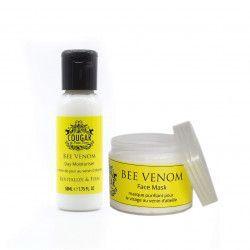 Pachet Promo Crema Hidratanta de zi 50 ml si Masca Faciala 100 ml cu Venin de Albine Tratamente, serumuri