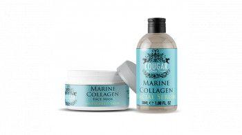 Pachet Promo Marine Collagen Masca si Ser facial 130 ml Tratamente, serumuri