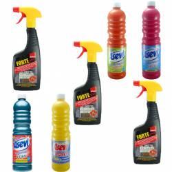 Pachet - 3 x Sano forte plus Solutie pentru curatare aragaz cu pulverizator Degresant 500ml + Asevi ceara impotriva alun