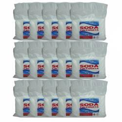 Pachet 15 bucati - Soda calcinata pentru albit Rufe 15 X 1 kg