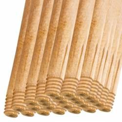 Pachet 25 bucati Coada din lemn natur cu filet matura mop 120cm