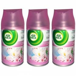 Pachet 3 bucati Odorizant camera Air wick Rezerva Magnolie and floare de cires 250ml
