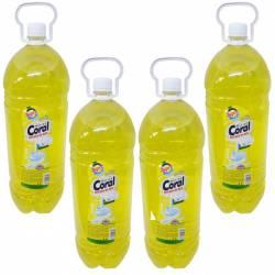 Pachet 4 bucati - Detergent de vase Marine Coral Lamaie 3 L