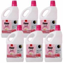Pachet 6 bucati - Sano Floor Fresh Home 1L Detergent lichid pentru pardoseli cu proprietatea de curatare 6 x 1000ml