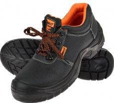 Pantofi de protectie pentru lucru din piele marimea 47 Geko G90507 Articole protectia muncii