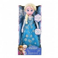 Papusa de plus muzicala Frozen 38 cm Elsa Jucarii