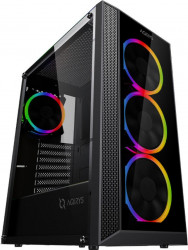 PC Gaming Diaxxa Advanced i5-9600K 3.7GHz 1TB HDD+SSD 480GB 16GB DDR4 GTX 1660 SUPER 6GB GDDR6 192bit Calculatoare Desktop