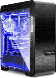 PC Gaming Diaxxa Advanced Intel 9th i5-9600K up to 4.60GHz 2TB HDD+SSD 240GB 16GB DDR4 GeForce RTX 2070 8GB GDDR6 256 bit