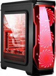 PC Gaming Diaxxa Fortnite v2 AMD Ryzen 5 2600 3.4Ghz SSD 480GB 8GB DDR4 Radeon RX 550 4GB GDDR5 128-bit Calculatoare Desktop
