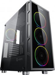 PC Gaming Diaxxa Advanced AMD Ryzen 7 3700X 3.6GHz 1TB HDD+SSD 240GB 16GB DDR4 Radeon RX 580 8GB GDDR5 256-bit Calculatoare Desktop