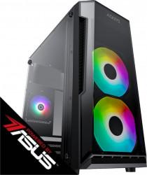 PC Gaming Diaxxa Powered by ASUS AMD Ryzen 5 1600 3.2GHz 1TB SSD 16GB DDR4 GeForce GTX 1050 Ti 4GB GDDR5 128bit Calculatoare Desktop