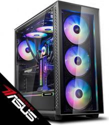 PC Gaming Diaxxa Powered by ASUS AMD Ryzen 7 3700X 3.6GHz SSD M.2 1TB 32GB DDR4  GTX 1660 SUPER 6GB GDDR6 192-bit Calculatoare Desktop