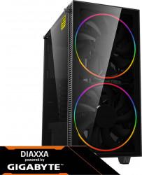 PC Gaming Diaxxa Powered by GIGABYTE AMD Ryzen 5 3600 3.6GHz 2TB HDD+SSD 240GB 16GB DDR4 GeForce RTX 2060 OC 6GB GDDR6 Calculatoare Desktop
