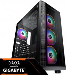 PC Gaming Diaxxa Powered by GIGABYTE Intel 10th i5-10600K 4.10GHz 1TB HDD+SSD 256GB 16GB DDR4 GIGABYTE GeForce RTX 2060 OC 6GB GDDR6 192 bit