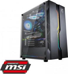 PC Gaming Diaxxa powered by MSI AMD Ryzen 5 4650G 3.7GHz HDD 1TB+SSD 120GB 16GB DDR4 Geforce GTX 1050 Ti 4GB GDDR5 128bit Calculatoare Desktop
