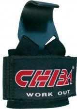 Pereche chingi cu carlig metalic CHIBA HOOK Accesorii fitness