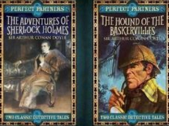 Perfect Partners the Hound of the Baskervilles and the Adventures of Sherlock Holmes - Sir Arthur Conan Doyle Carti