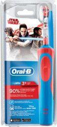 Periuta de dinti electrica Oral-B Vitality Star Wars 3+ ani 7600 OPM Rosu Albastru Periute electrice si dus bucal