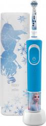 Periuta de dinti electrica pentru copii Oral-B Vitality Frozen II 7600 oscilatii/min Albastru Periute electrice si dus bucal