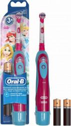 Periuta de dinti electrica pentru copii Oral-B powered by Braun D2010 9600 oscilatii 1 program 1 capat pentru Fetite Periute electrice si dus bucal