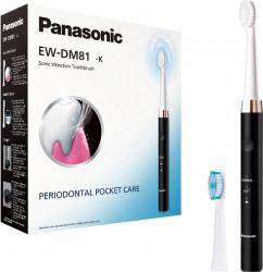 Periuta de dinti Panasonic EW-DM81-K503 Sonic vibration 31.000 oscilatii Neagru