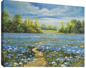 Pictura in ulei 1 - Tablou canvas - 52x70 cm Tablouri