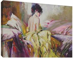 Pictura in ulei 3 - Tablou canvas - 52x70 cm Tablouri