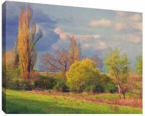Pictura in ulei 8 - Tablou canvas - 52x70 cm Tablouri