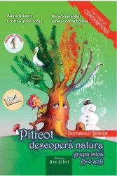 pret preturi Piticot Descopera Natura Grupa Mica 3-4 Ani - Adina Grigore