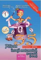 pret preturi Piticot Invata Matematica Grupa Mica 3-4 Ani - Adina Grigore