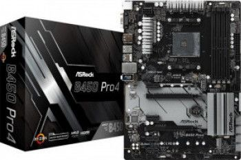 Placa de baza ASRock B450 PRO4 Socket AM4