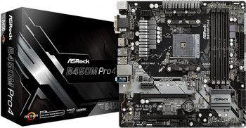 Placa de baza ASRock B450M PRO4 Socket AM4