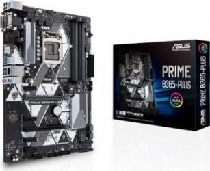 Placa de baza ASUS PRIME B365-PLUS Socket 1151v2 Resigilat Placi de baza